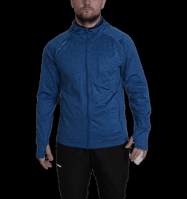 Dobsom Laikko Jacket Blue on miesten tekninen huppari, joka on miellyttävän tuntuinen 4-suuntaisella joustavuudella. Hupparia on saatavana useammalla eri kokoluokalla, välillä S-XL. Materiaaliltaan Laikko Jacket Blue on 85 % polyesteria ja 15 % spandexia.
