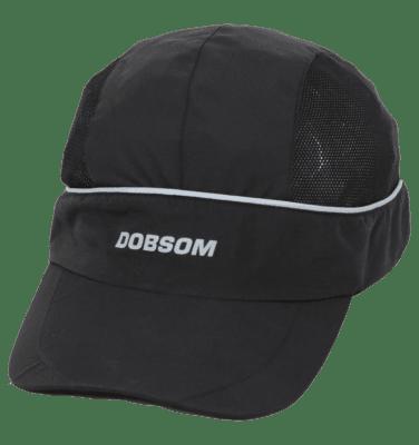 Dobsom Running Cap Black sopii miehille urheiluun ja vapaa-aikaan. Lippalakki on hyvin hengittävä.