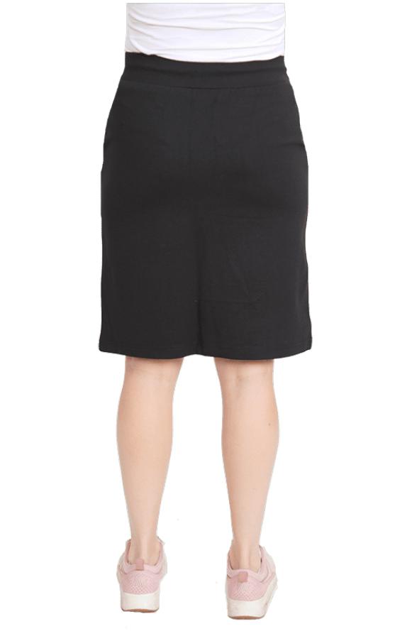 Dobsom Iowa Skirt Black, naisten vapaa-ajan hame