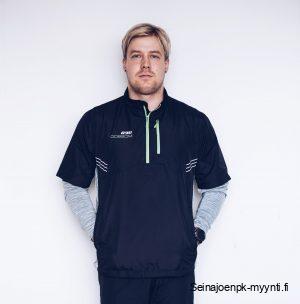 Miesten urheilutakki Dobsom R90 Active Jacket Black, joka tunnetaan hyvin urheilupiireissä.