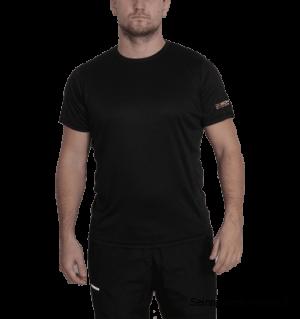 Dobsom Skill Tee Black on miellyttävän tuntuinen t-paita vaativaan harjoitteluun ja vapaa-aikaan. T-paita hengittää erinomaisesti pitää harjoituksetkin miellyttävänä.