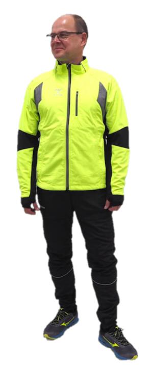 Dobsom R90 Winter jacket yellow, miesten talviurheilutakki