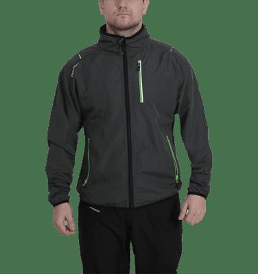 Zink Jacket takki on erinomainen juoksuun, kävelyyn, pyöräilyyn ja golfaamiseen. Takki hengittävää materiaalia ja miellyttävän ja kevyen tuntuinen yllä.